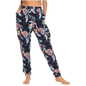 Roxy Easy Peasy Pants Women anthracite tropicoco s